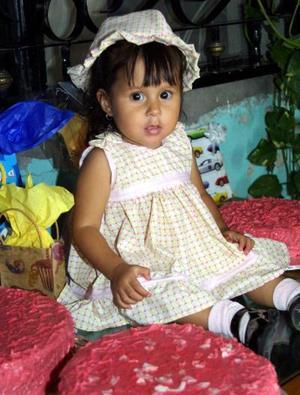 <b>08  agosto</b> <p>Por su primer año de vida  festejaron a la niña Paulina Estefanía Roel, es hija de Jesús Roel Ávila y Sofía Irene de Roel.