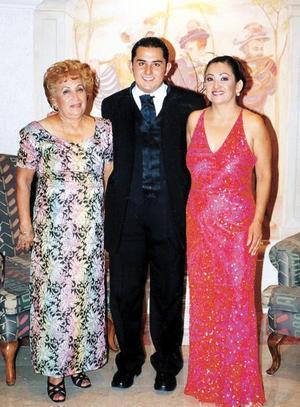 <b>08 agosto</b> <p> Marco Antonio Meléndez Rodríguez, Josefina García Vda. de Rodríguez y Consuelo Rodríguez García.
