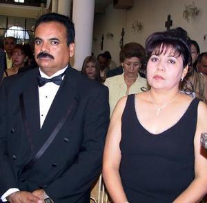 <b> 09 agosto <b> <p>Señores Sergio Mireles y Martha Ramírez de Mireles.