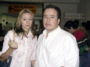 <b> 10 al 11 de agosto </b> <p>  Para visitar a la familia Gómez Guadiana viajaron a Ciudad Juárez, Chih., David Gómez y Laura Rivas.