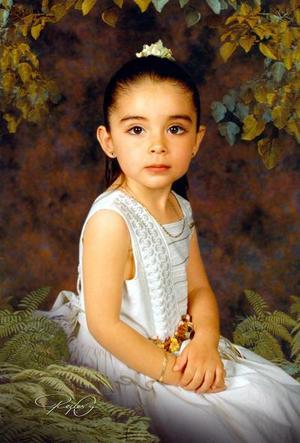 Niña Carolina Hernández Rodríuguez hija del Sr. Antonio Alberto Hernández Serrano y la Sra. Carolina Rodríguez de Hernández.