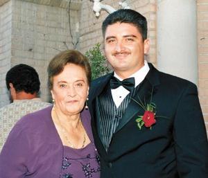 Arturo González Domínguez y Cecelia Padilla Domínguez.