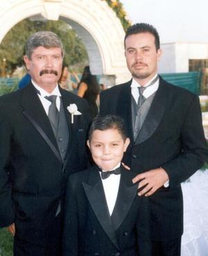 Salomón Ayup Romero, Salomón Ayup Muñoz y Salomón Ayup Medina.