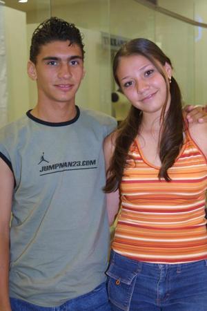 César Brayan y Rosy García