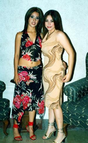 Judith Meléndez y Karen Martínez.