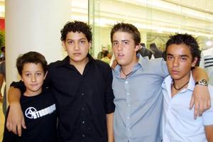 Luis Cepeda, Óscar Martínez, Pol Bejiga y Alfredo Hernández