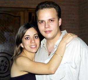 Luis Genaro Torres A. y Ana Tere García Martínez contrajeron matrimonio.