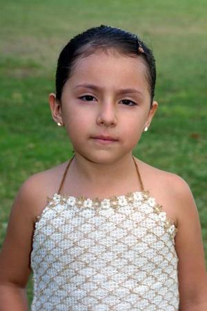 Paulette Ramírez Tovar cumplió cuatro años de edad y fue festejada en días pasados por tan grato acontecimiento.