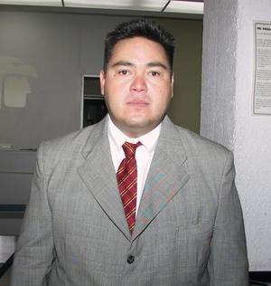 A la ciudad capital del país se trasladó Miguel Mendoza, para tratar asuntos de trabajo