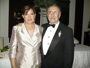 Sofía Méndez y Dr. Santiago Ávalos Rodríguez.