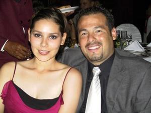 <b> 13 de agosto <b> <p>Ofelia López y Javier de Hoyos Flores.