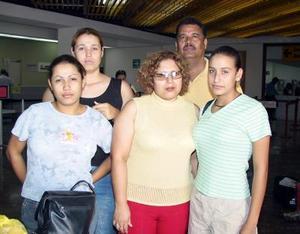 <b> 14 de agosto </b> <p>Para visitar a la familia Ortiz Flores se trasladaron  a Los Ángeles Cal, Alfredo Ortiz y Leticia López con sus hijas Wendy, Cecilia y Brenda.
