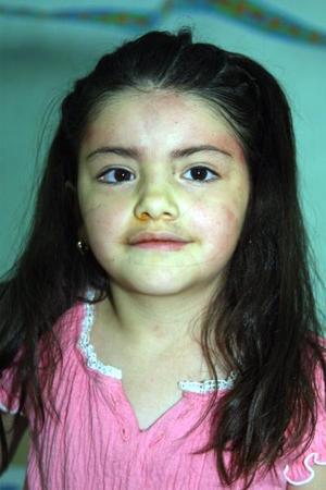 Alana Cortez de González festejó su quinto aniversario de vida con un convivio ofrecido por su mamá Eréndira González de Cortez.