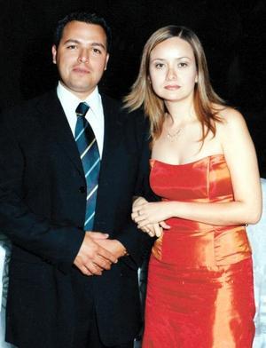 Marco Antonio Arroyo y Carmen Cázares captados recientemente