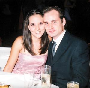 <b> 14 de agosto <b> <p>Paulina Delgado Medina y David González Zambrano
