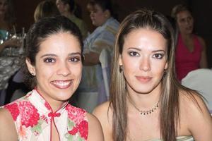 <b> 14 de agosto </b>  <p>Etna Loera y Priscila Benavides