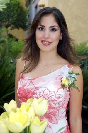 <b> 16 agosto 2003 </b> <p> Gabriela Díaz de León Maisterrena en su primera despedida de soltera.