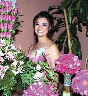 Jessica Rocío González Arrañaga en su primera despedida de soltera