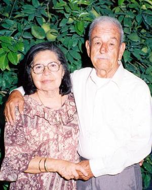Don Federico Rodríguez y su esposa, Sra. Ana María Solis de Rodríguez.