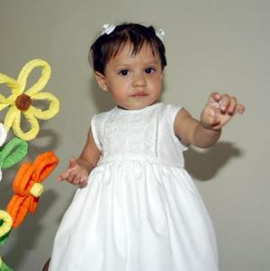 Brenda Ivette Rodríguez Escobedo fue festejada en su primer año de vida,.