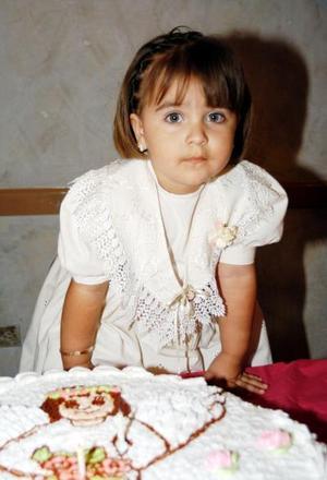 Tres años de edad cumplió la pequeña Michelle Solís Ruiz.