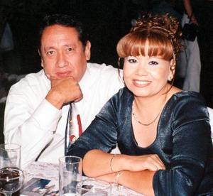 Jesús Castro Hernández y Cuquis Sigala de Castro.