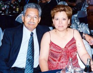Roberto Mascorro Rodríguez y Rosa Hortensia Sigala de Mascorro.