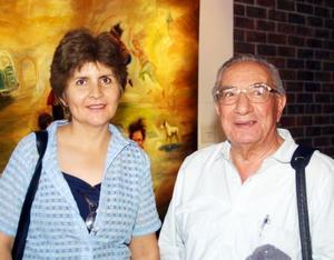 Alma Rosa Ríos y Luis Solís Lozano.