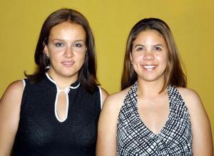 Cinthia Luna Valdez y Adriana de la Garza.