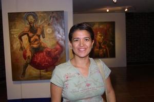 Cinthia Gaspar Montero captada recientemente