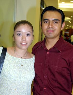 <b> 17 y 18 de  agosto  </b> <p>Vanessa Odilit Granados y Luis Rafael Calvillo Quintero captados recientemente.