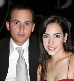 Alfredo Fernández Gómez y María Fernanda Duéñes.