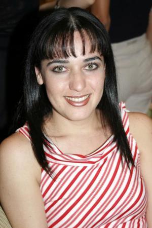 Berenice Ramírez captada recientemente.