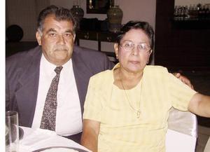 <b> 23 de agosto </b> <p> Héctor Peña Gómez y Graciela Espinoza de Peña.