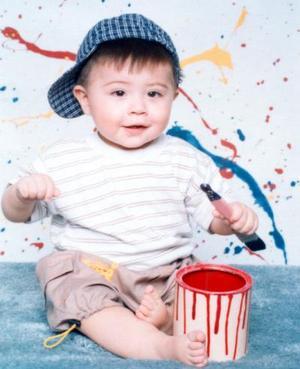 Jesús Gerardo Roldán Jáquez captado en su primer año de edad, es hijito de Claudia Ivonne Roldán J..