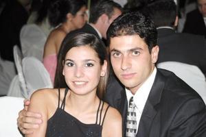 Claudia Martínez Obeso y Francisco Batarse.