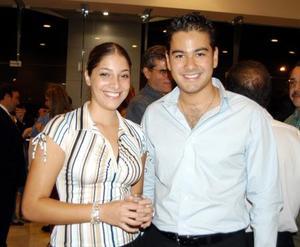 Ana Laura Viesca y Carlos Bustos.