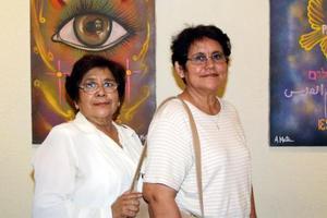 Avilia Aragón y María Elena Sánchez de García