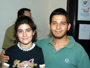 Isabel Morales y Arturo Gómez.