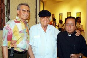 Lorenzo de Lura, Jorge Marcos y Antonio Mata S.J..