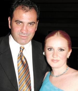 Eduardo González Madero y Brenda Noyola Cosío.