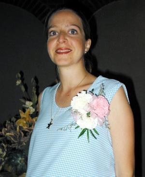Por el cercano nacimiento de su bebé, ofrecieron una fiesta de canastilla a Verónica Hurtado de Hintze.