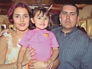 Frida Sofía Sotomayor Muñoz cumplió tres años de vida los que celebró con una fiesta organizada por sus padres Jerson Sotomayor y Patty de Sotomayor.