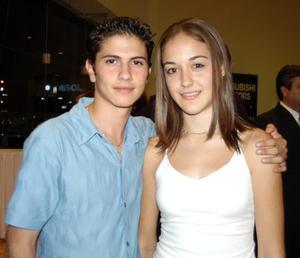 <b> 28 de agosto </b> <p> Víctor Máynez Eppen y Beatriz Arenal.
