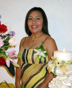 <b> 28 de agosto </b> <p> Olga Liliana López Espinoza contraerá matrimonio con Óscar Alejandro Huerta García el 22 de noviembre.