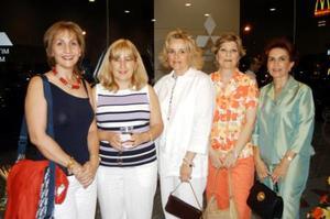 <b> 29 de agosto </b> <p> Bertha Berlanga, Connie de Murra, María Guadalupe Valdés de López Nava y Blanca Garza de Álvarez.