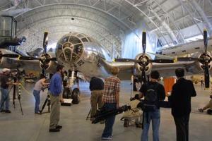 Este aeroplano es parte de nuestra historia y de quiénes somos, declaró el comisario de la división de aeronáutica del museo, Dik Daso, al presentar el bombardero B29.