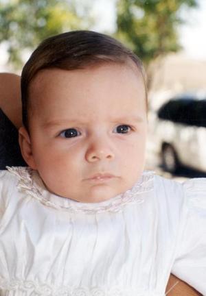 Arturo Castaños Corral hijo de los señores Manuel Castaños Barraza y Martha Corral de Castaños