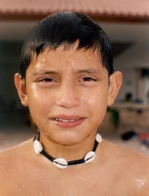 Con un convivio Diego Alberto festejó recientemente su onceavo cumpleaños, es hijo de los señores Alejandro Triana Pánuco y Mayela Solís de Triana.