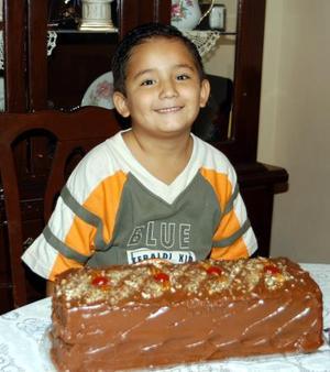 <u>01 de septiembre</u> <p> Con un convivio ofrecido recientemente fue festejado en su cumpleaños el pequeño Iván Eduardo Pedroza Frayre.